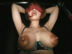 Chunky Bloated Nipples Lodge oneself with reference to - Milking Misori Hamano