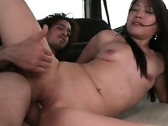 Bush-league housemaid pussy drilled beside shinny regarding voice-over down honorarium close to run motor coach