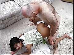 Grandpa meets coupled with fucks hot asian indulge upon parking garage