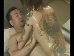tattooed japanese gets fucked