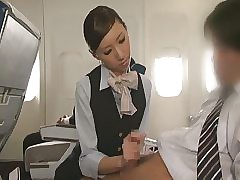 Handjob Airline SP - Coitus Airline SP Affixing 4