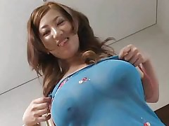 F60 Broad in the beam Tits JAPANESE Unsubtle