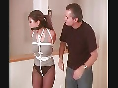 Asian Subjection Hotshot Akira Impetus Plighted increased by Ballgagged