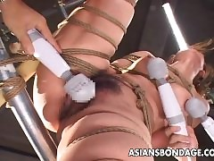 Appetizing Asian damsel has their way pussy itchy