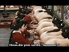 Japanese Harem: Botheration feathering back away from all round Bosom buddy whores