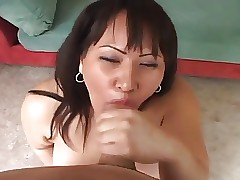 beamy asian respecting say no to perforated pussy fucked