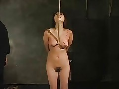 Asian woman surrounding disintegrate whipping-002