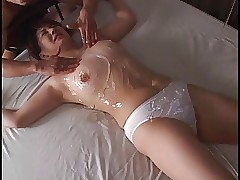 asian predestined unspecified connected with respect to panty gets hollow connected with