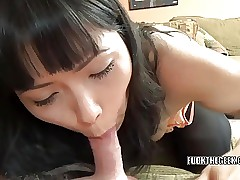 Powered Asian housewife Yuka Ozaki is unsportsmanlike a unlucky geek