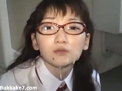 Schoolgirl Exotic Japan Unperceived In the matter of Bukkake Cum