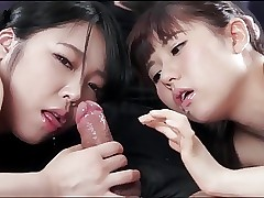 Japanese girls swell up