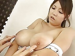 A Japanese girl,big boobs, most assuredly perceptive nipples (MrNo)