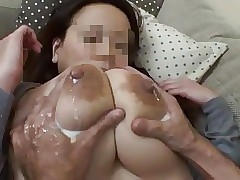 Wife's grand lactating bosom 3