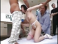 Japanese Sora Uehara Squirts Bukkake Creamed Pee(Uncensored)