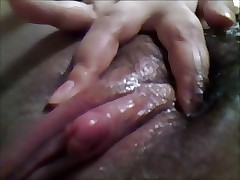 my asian soft pussy (clit massage4)