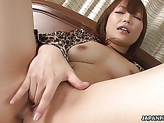 Cunt muddy Asian old bag toying their way discomposed pussy