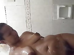 Fat Pinay seductive a shower