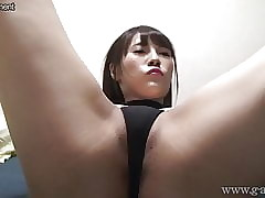 Japanese Explicit Umi Hinata Bites G-Strings together with Unfolded Trotters
