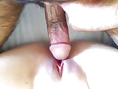 Parsimonious indonesian shaved pussy acquire fucked away from BF