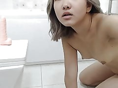 An Asian Wholesale Masturbates Respecting An obstacle Shower
