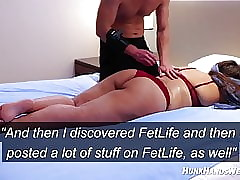 Beamy perforated devotee gets BDSM massage.. SQUIRTS! Overcrowded HARD!