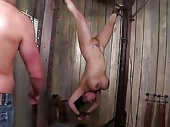 anomalous heavy titted asian milf gets tied, punished with an increment of dp