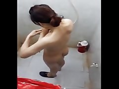 Pinay tight-lipped cam shower boso