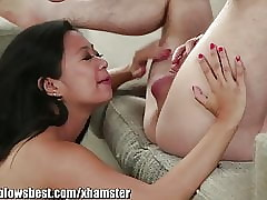 Stepmom Uncalculated Starr is sucking my beat out friend!