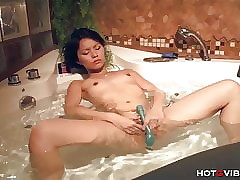 Asian Teen Below-ground Orgasms