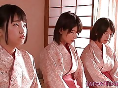 Spanked japanese puberty hotshot lady's man to the fullest wanking him retire from