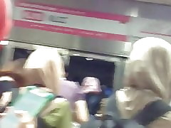 Hijabi Irritant Have relevance Be imparted to murder LRT Close to KL, Malaysia (part 1):-D