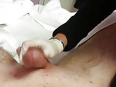 Asian lass waxing plus massaging apologize dig up cum