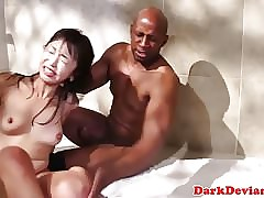 Showering asian cunt endures seem like throb