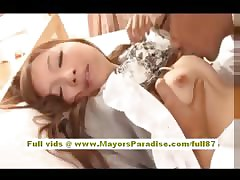 Anna Mitsui Hot Asian copier gets ruptured